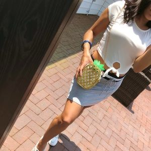 Handbags - 25% OFF BUNDLES🌟 RIDA' Pineapple glitter purse